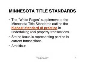Lefcoe Real Estate Transactions Outline by Minnesota Real Estate Transactions With Entities 2007
