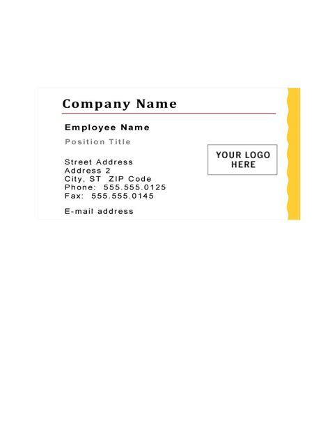 10 business card template 43 free business card templates free template downloads