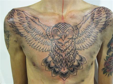 tattoo owl on chest cool owl chest tattoo design ideas for women tattoo