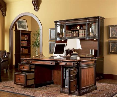 home design gold pc old world executive computer desk home office furniture