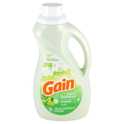 printable gain fabric softener coupons 1 64 gain liquid fabric softener at meijer with coupon