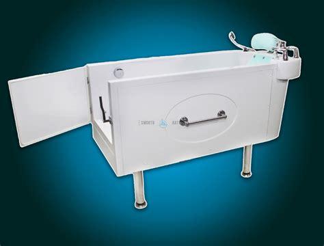 slide in bathtub sensation assisted slide in bath with movable seat