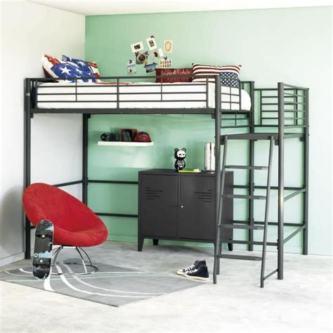 lit bureau pas cher lit mezzanine avec bureau pas cher free lit a etage avec