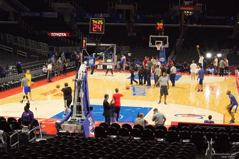 staples center section 106 staples center section 106 clippers lakers