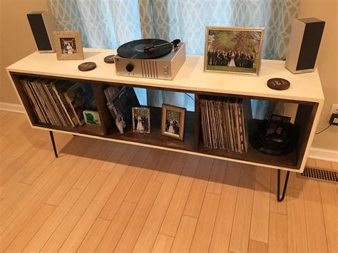 record player table and storage record player stand size of hospital bed table with