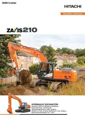 Seal Kit Excavator Hitachi Zaxis 210 5g Lomos 27 best hitachi excavator service repair images on repair manuals volvo and