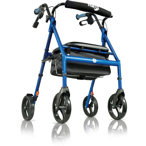 Hugo For hugo 174 rolling walker with a seat hugo 174