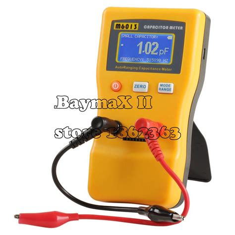 capacitor tester meter m6013 digital auto ranging capacitance meter tester capacitor tester 0 01pf to 470000uf in