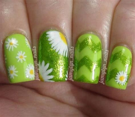 easy nail art green 65 most beautiful green nail art design ideas