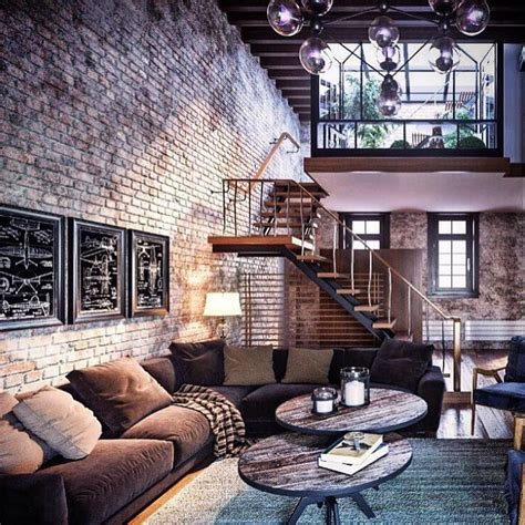 exposed brick apartments 3 966 likes 33 comments the stylish man stylishmanmag