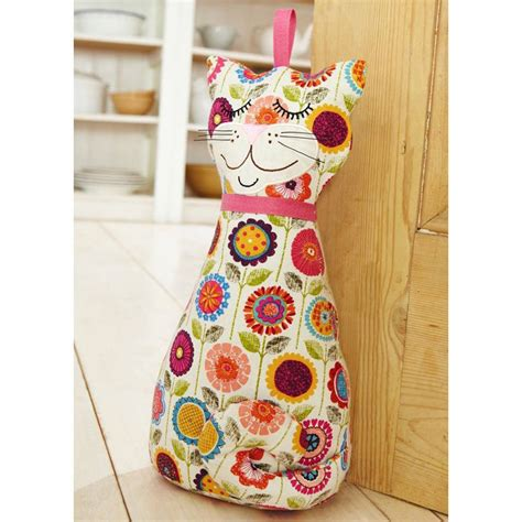 Cat Door Stopper by Cat Door Stop By Ulster Weavers Notonthehighstreet