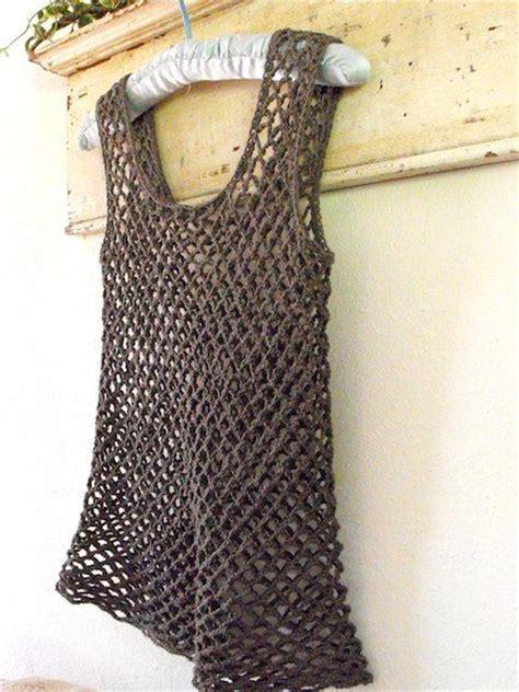 mesh tops mesh and top pattern on pinterest mesh tank top crochet pinterest