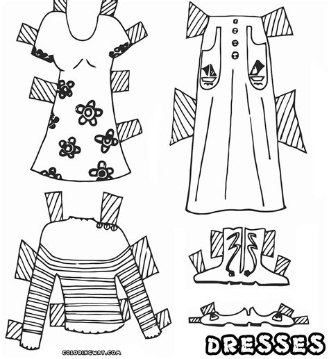 tank top coloring page coloring tank top dress coloring pages