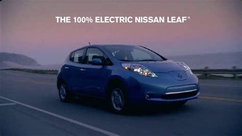 nissan leaf ad nissan leaf commercial actor