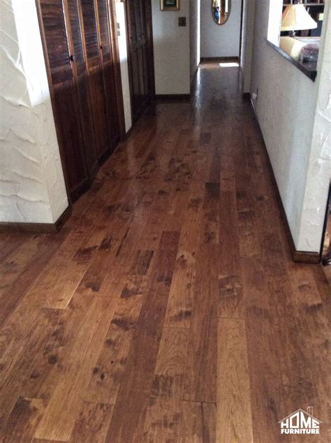 hickory american scraped hardwood by armstrong recently