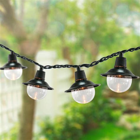 Outdoor Electric Lights Outdoor String Lights Home Design And Decor Reviews