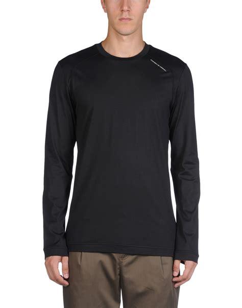 Kaos T Shirt Design I Adidas porsche design sport by adidas t shirt in gray for steel grey lyst