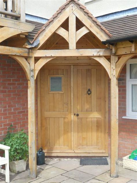 Front Door Canopy Wooden Wooden Luxury Green Oak Porch Front Door Canopy Handmade Front Door Canopy Door Canopy And