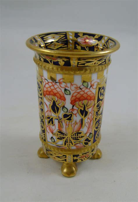 Imari Vases Prices by Antiques Atlas Royal Crown Derby Imari Miniature Vase