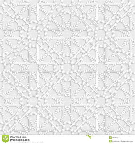 vector background pattern gray arabesque star pattern with grunge light grey background