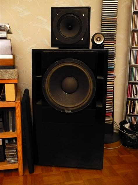 Speaker Subwoofer Audax 12 enceinte diy audax triangle fostex le forum