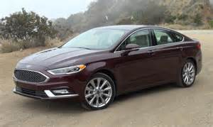 Ford Platinum 2017 Ford Fusion Platinum Drive Review Myinforms
