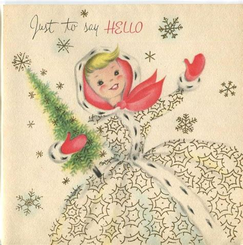blonde vintage christmas tree treetopia 4141 best vintage christmas greeting cards four images on