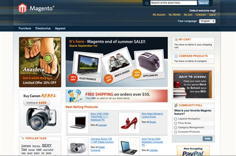 magento homepage template setting up a copy of a magento live site locally for
