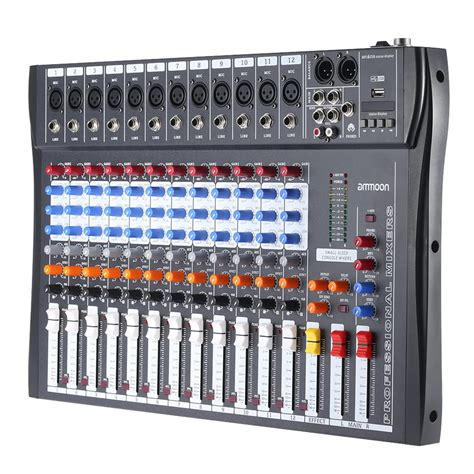 Batok Usb 3usb 3 1a buy ammoon 120s usb 12 channels mic line audio mixer