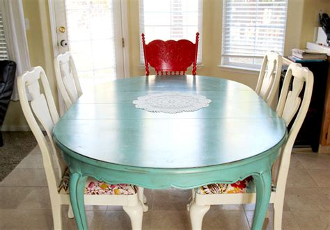 colorful dining table colorful painted dining table inspiration