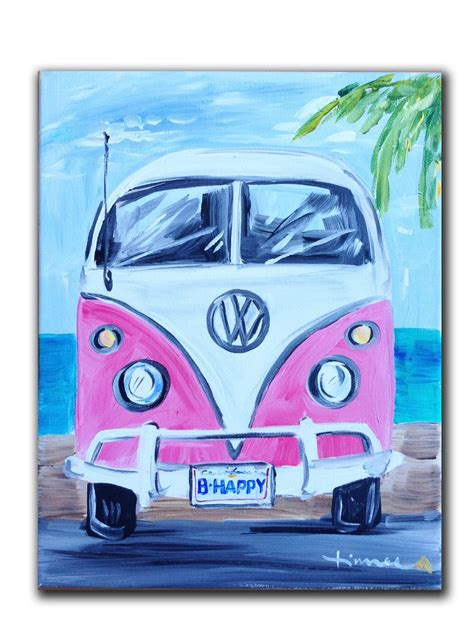 volkswagen bus painting the todd version maybe the tag could say quot cmseries quot yeah