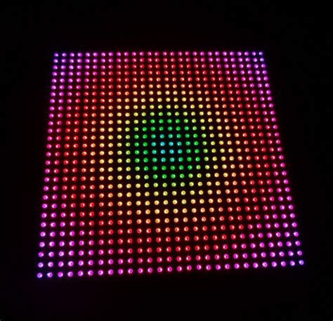 Modul P10 Rgb Smd Color Indoor Promo Gratis Tutorial Interface aliexpress buy p10 apa102 color rgb indoor led display unit panel 28 28pixels 280mm