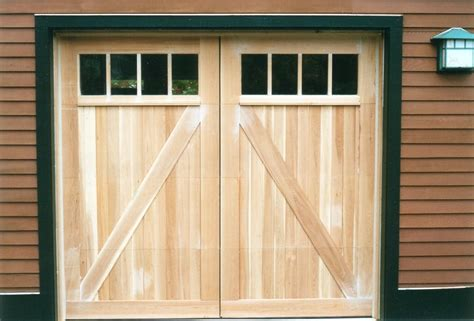 Barn Style Garage Doors Designed By Builder To Match The Barn Doors Garage