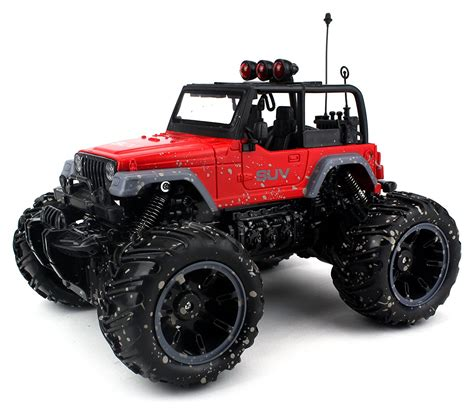 Rc King Cross Country Speed Remote Scale 1 14 velocity toys cross country muddy suv remote rc truck 1 16 scale rechargeable with