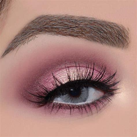 light pink glitter eyeshadow light pink smokey eye makeup tutorial mugeek vidalondon