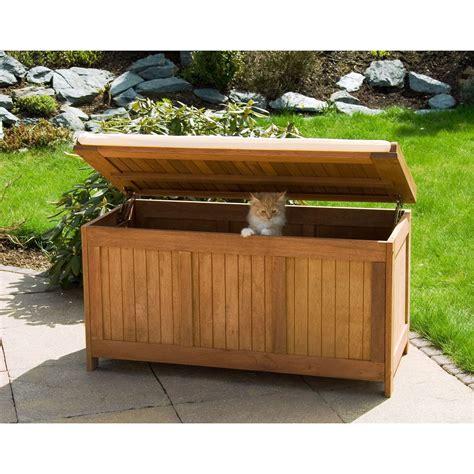 wood chest bench stilista fsc hardwood garden chest seat trunk storage