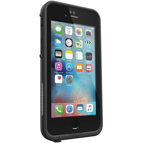 lifeproof fre waterproof case apple iphone   black