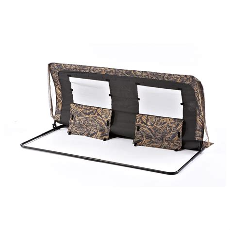 Avian X Blind Gooseview Industries Double Fox Den Pit Blind Roof Cover