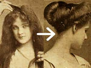 hairstyles in the the 1900s easy edwardian hairstyle in 10 minutes glamourdaze