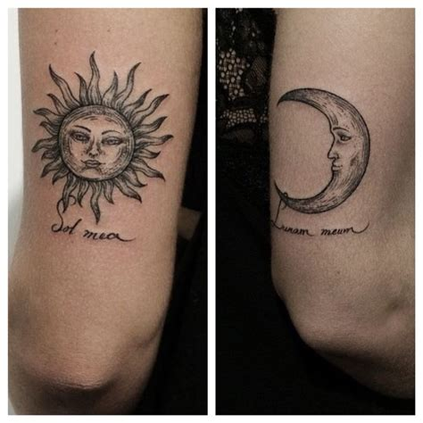moon phases yin yang tattoo designs ideas tattoo collection