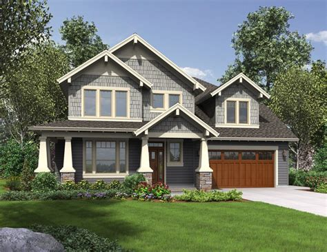 Craftsman Style Home Plans Designs by House Plan Hood River Craftsman Home Plan