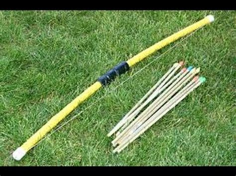 How To Make A Bow Arrow Out Of Paper - how to make a bow and arrow