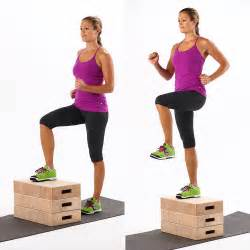 how to do step ups popsugar fitness