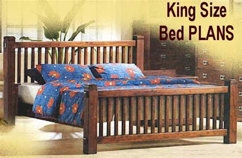 Free King Size Bed Frame Plans Plans For Size Bed Frame With Drawers 187 Woodworktips