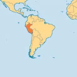 Peru World Map by Peru Operation World
