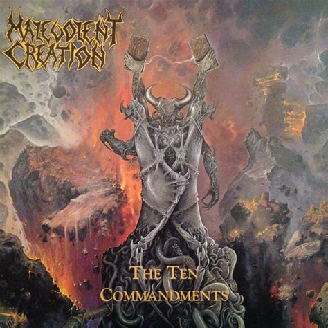 Cd Malevolent Creation The Ten malevolent creation the ten commandments at discogs