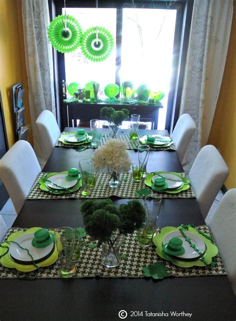 saint patrick s day table decorating ideas