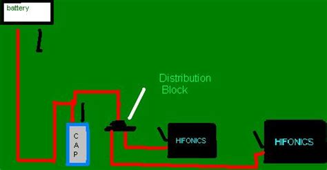 how to hook up two capacitors to one diagram for wiring 1 capacitors to 2 s