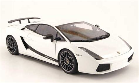Lamborghini Gallardo Model Car Lamborghini Gallardo Superleggera White 2007 Autoart