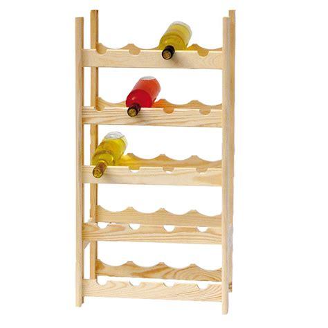 costruire scaffali in legno cantinetta scaffale portabottiglie 20 posti in legno